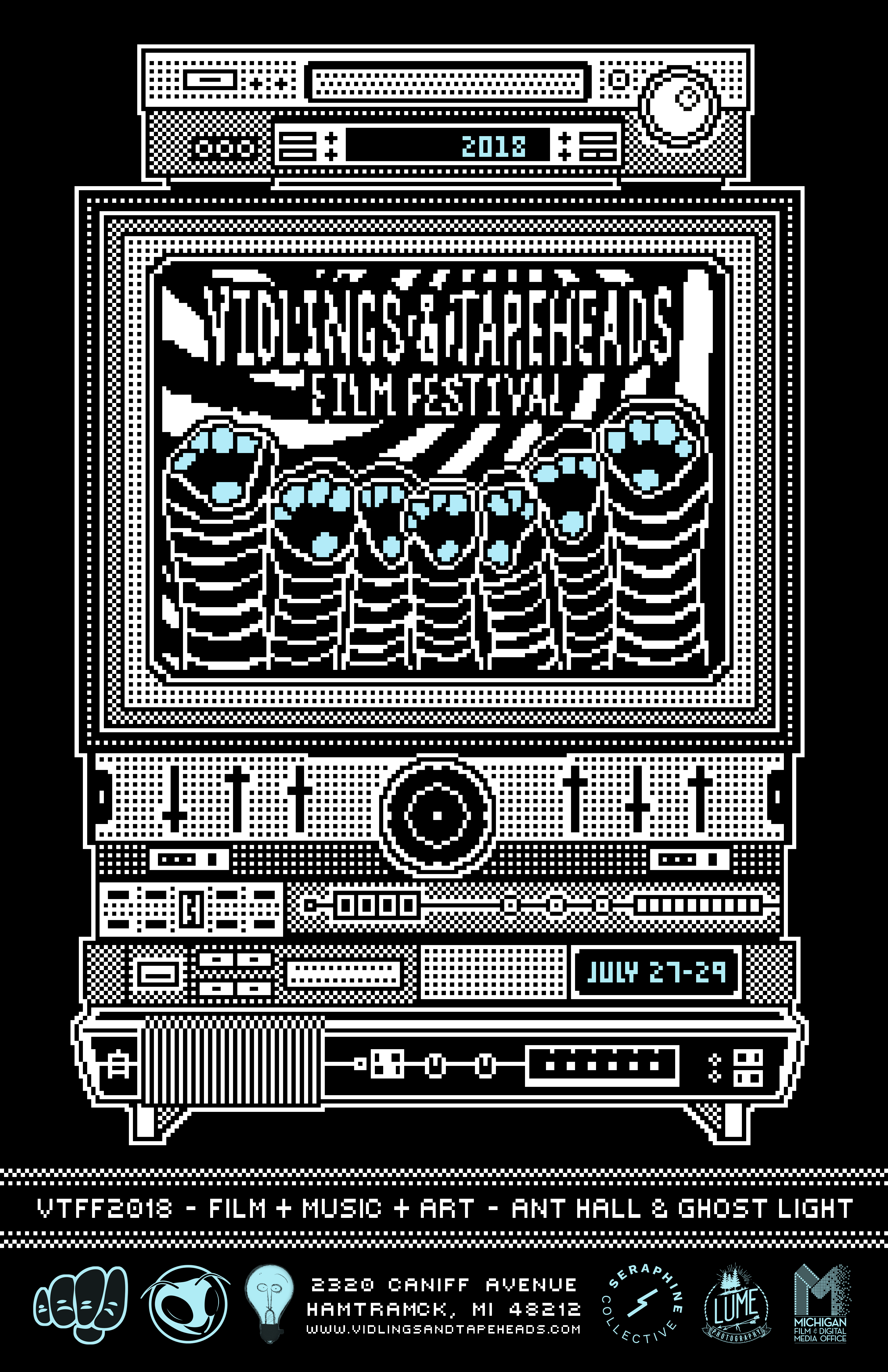 Vidlings & Tapeheads Film Festival 2018 | July 27-29