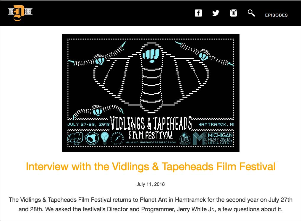 VTFF2018 The D Brief Interview